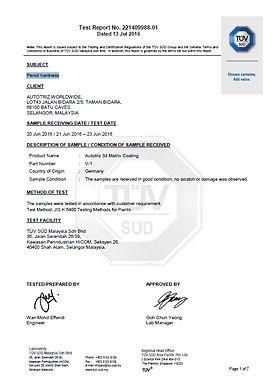 autotriz, sio2 3d matrix nano ceramic coating thickness hardness chemical resistance high gloss water contact angle pro german advanced nanotechnology, carpro, gyeon, gtechniq, ceramic pro, modesta, kamikaze, finest, japan, korea, car, automotive, hydrophobic, hydrophilic, 9H, permanet bond, TUV, certification, certified, acid, alkali test