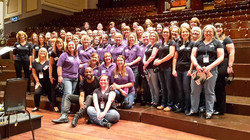 Scottish MWCs at Usher Hall with Mark de Lisser. Home for Christmas