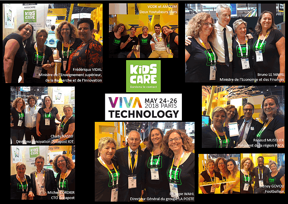 KidsCare au salon VivaTech Paris