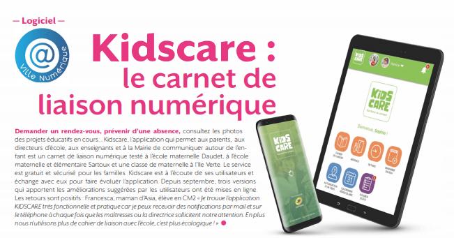 Cahier de liaison numérique pour les écoles