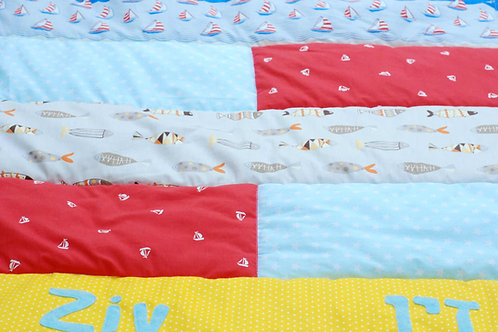 שמיכה | דגם זיו
