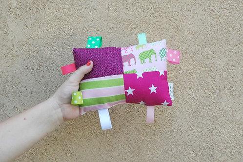 צעצוע לתינוק | דגם סגול וירוק