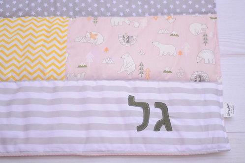 שמיכה | דגם גל