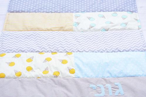 שמיכה   דגם גוני