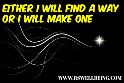 EITHER I WILL FIND A WAY