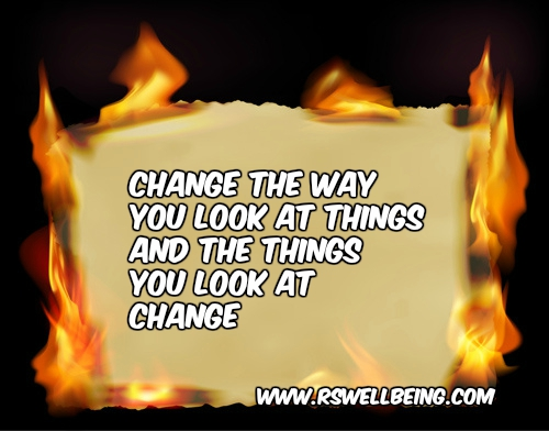 CHANGE THE WAY YOU SEE THE THINGS.