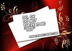 do or do not