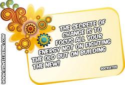 the secrete of the change