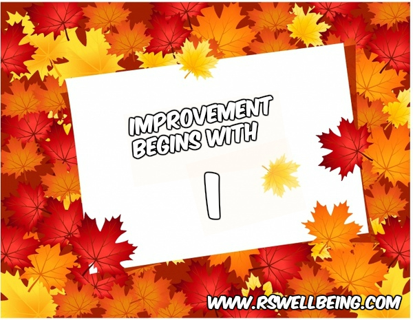 improvement start with I