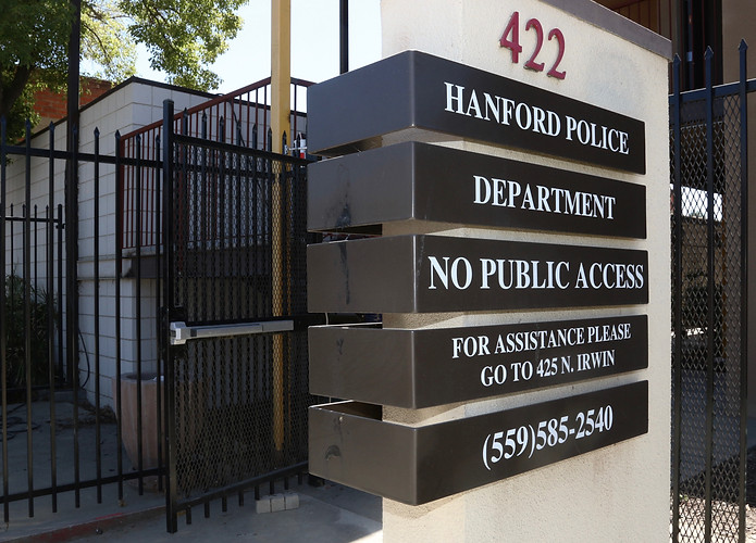 Hanford CA Police Department Building Re