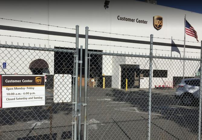 UPS Parking Lot Renovatins