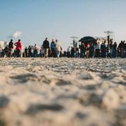 Touquet Music Beach Festival 2018, plage et sable