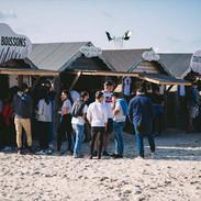 Touquet Music Beach Festival 2018, stands food et bars