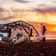 Coucher de soleil au Touquet Music Beach Festival 2019
