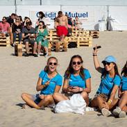 Les bénévoles du Touquet Music Beach Festival 2019