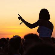 Touquet Music Beach Festival 2019, ambiance au coucher de soleil