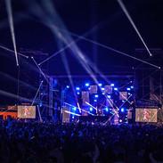 Touquet Music Beach Festival 2017 - Night lights