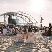 Ambiance en journée au Touquet Music Beach Festival 2019