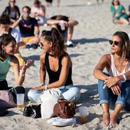 La journée au Touquet Music Beach Festival 2019 - public