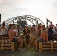 Chill zone & Drinks au Touquet Music Beach Festival 2019