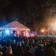 Le Parc des Pins, le kiosque en lumière au TMB Winter 2019