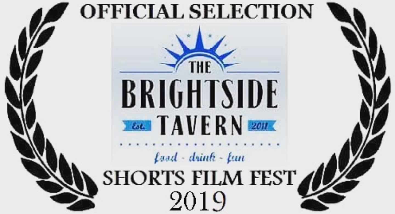 """Damned are the Lost"" (kort) visades på The Brightside Tavern Shorts Film Fest, New York 2019."