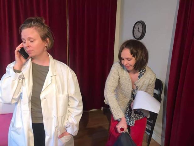 Character Acting Workshop at Studio Meisner, Stockholm (Sweden) 2020