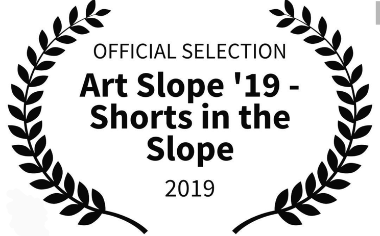 """Damned are the Lost"" (kort) visades på Art Slope '19 Film Festival, New York 2019."