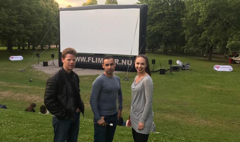 """""""På väg"""" (""""On My Way"""") (short) Won an Award at Flimmer Film Festival, Sweden 2017"""