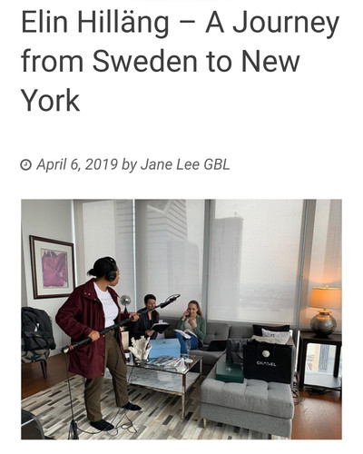 Article about Elin Hilläng's Journey as a Swedish Actress in New York