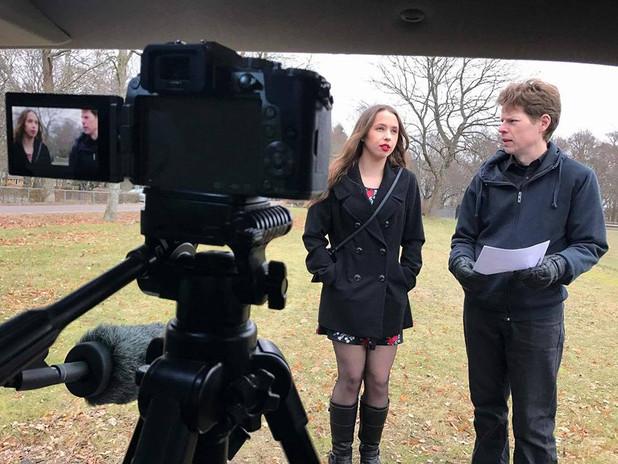 """Filming """"På Väg"""" (""""On My Way"""") (short), 2017, Sweden"""
