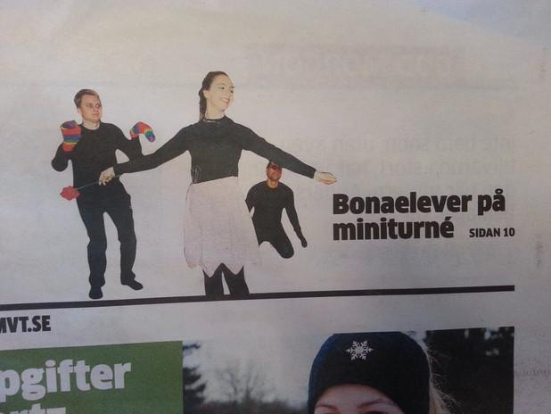 """Artikel om """"Bellanora"""" (pjäs), Sverige"""