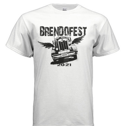 BrendoFest 4, 2021 Official T-shirt