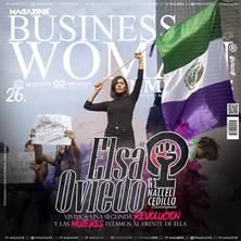 Portada de la revista Business Woman