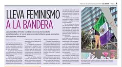 Lleva feminismo a la bandera