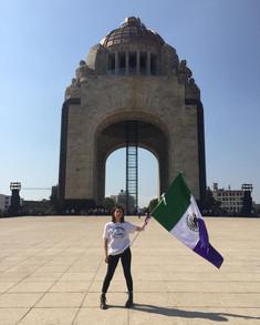 #25N en el Monumento a la Revolución
