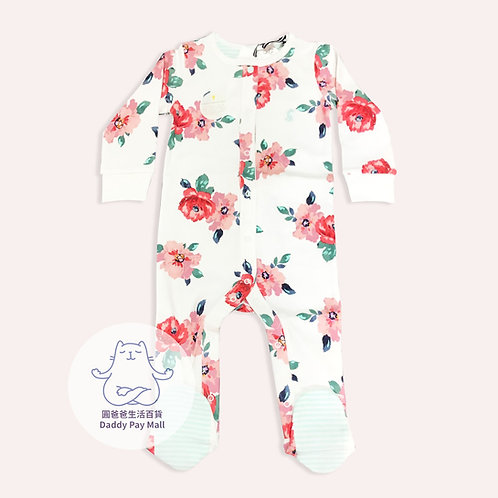 花花圖案嬰兒連體衣 Floral Print Baby Bodysuit
