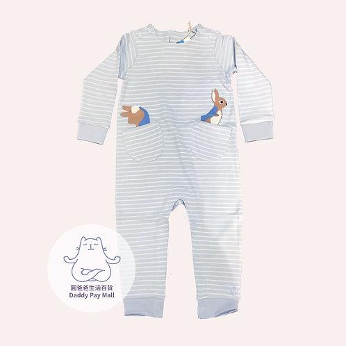 比得兔圖案嬰兒連體衣 Peter Rabbit Print Baby Bodysuit