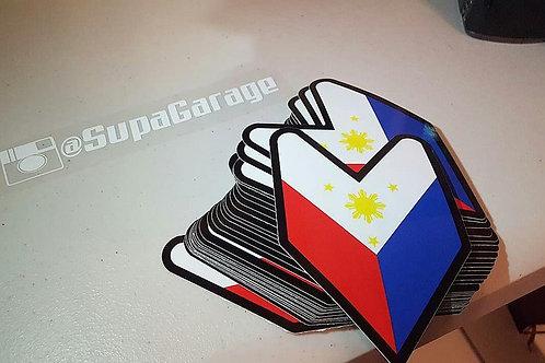 JDM Filipino Flag Decal