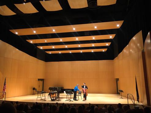 Utah Dixie State University Cello Festival - Composer-in-residence Elena Chiu