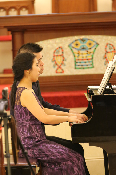 Elena Chiu & Albert Lau Piano Duo Recital