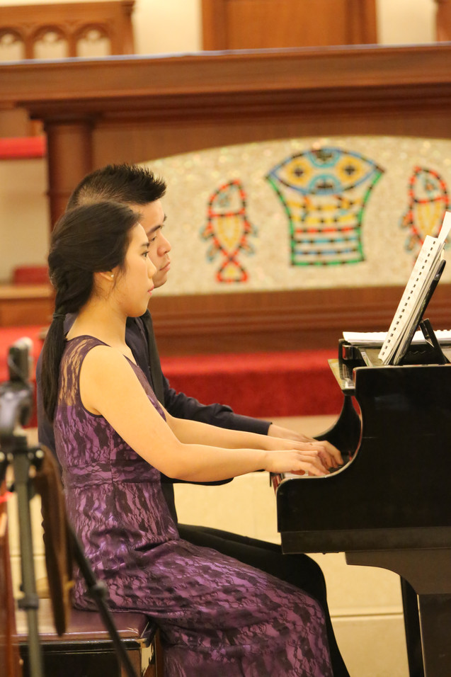 Elena Chiu & Albert Lau Piano Duo Recital