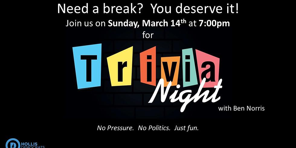 Trivia Night with Ben Norris