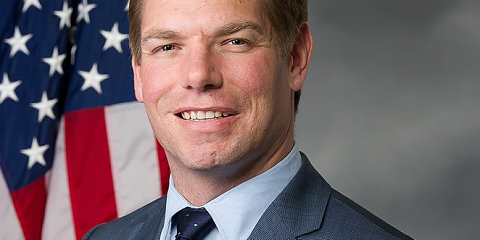 Presidential Candidate Eric Swalwell in Milford
