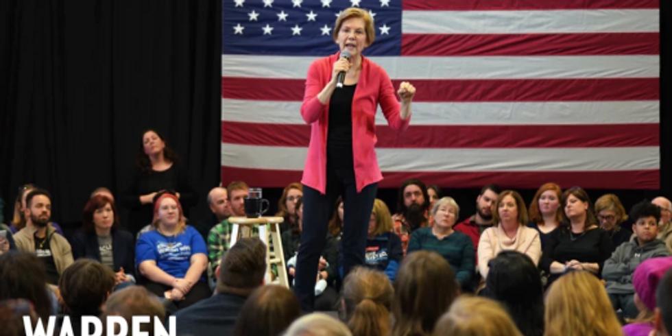 Town Hall with Senator Elizabeth Warren