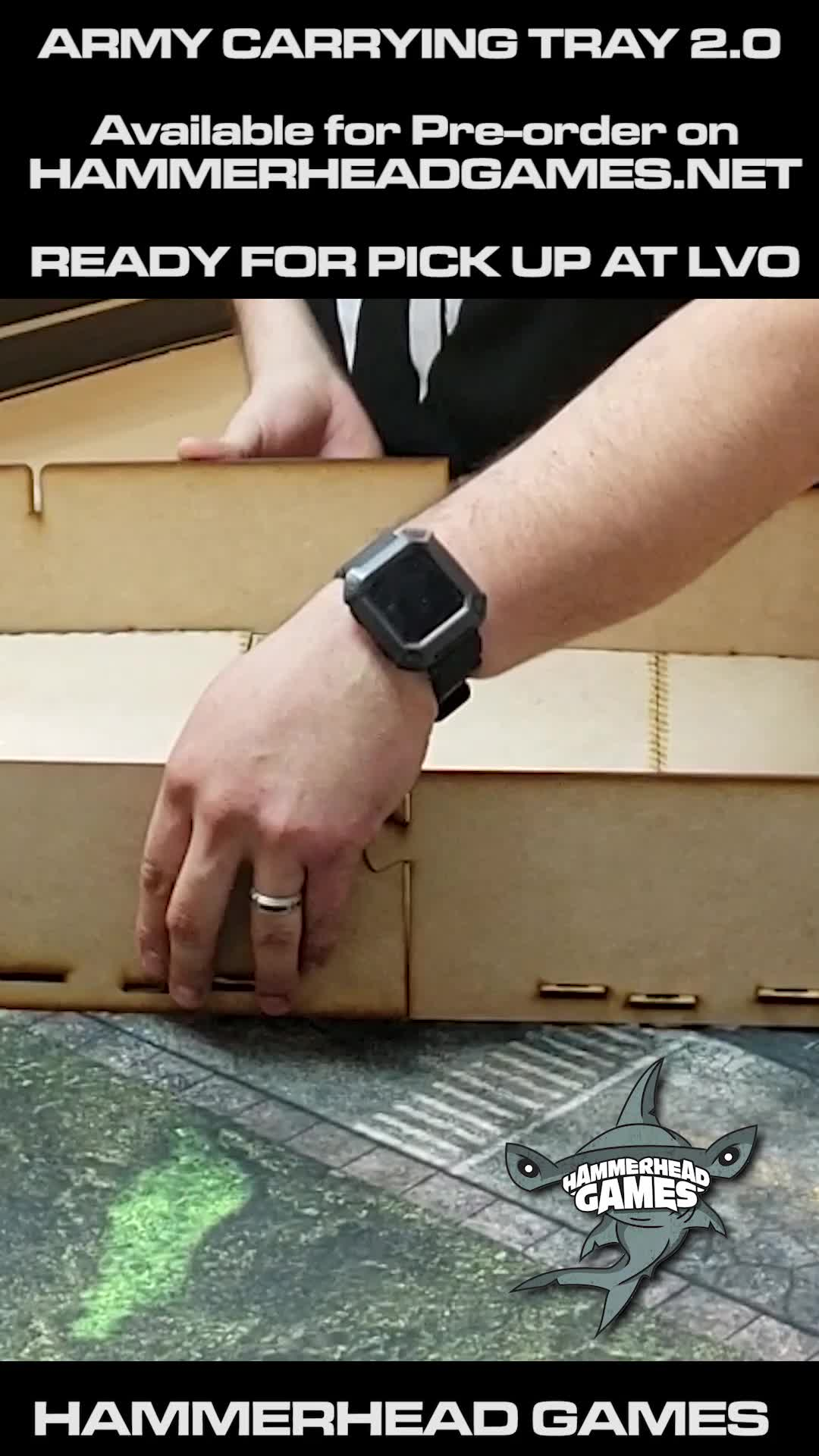 Army Carrying Tray - Assembly Video