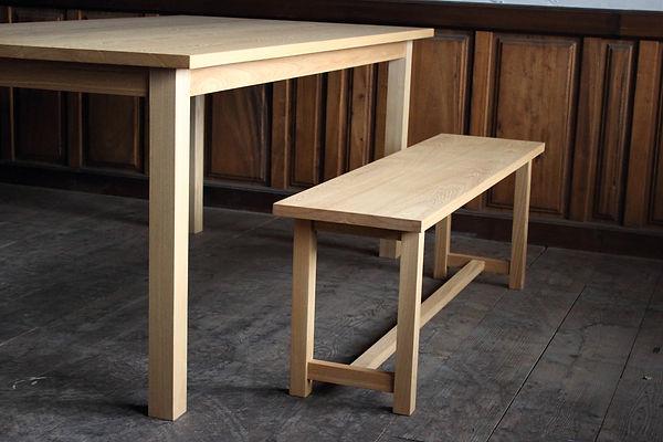 栗秋木工、、佐賀、ベンチ、家具