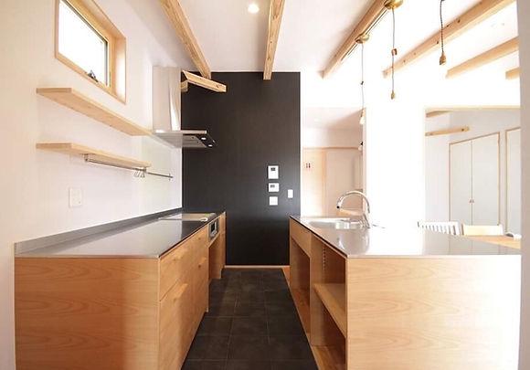 佐賀、オーダー家具、栗秋木工、キャビネット、キッチン