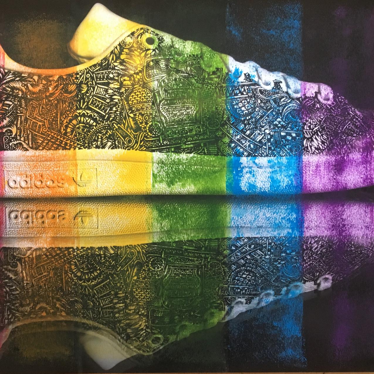 Running on a Rainbow, Thomas Wolski