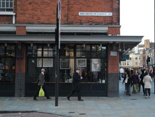 Thomas Wolski, Hackett, Spitalfields market, London Installation.